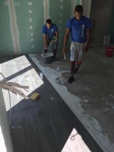 Τοποθετήσεις πλακιδίων δαπέδου - New Home Constructions