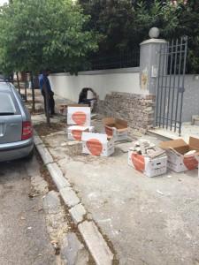 Τοποθέτηση επένδυση πέτρας siarampis