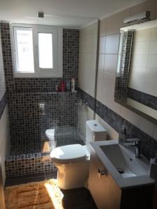 Έργα Ανακαίνισης μπάνιου μοναδικά σε διαμέρισμα στην Ανθούπολη