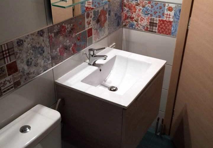 Ανακαίνιση μπάνιου σε οικία στο Κερατσίνι