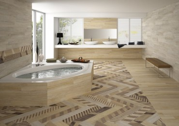 Μία νέα σειρά για ανακαίνιση οικίας και επαγγελματικού χώρου, Πλακάκια δαπέδου τύπου ξύλου
