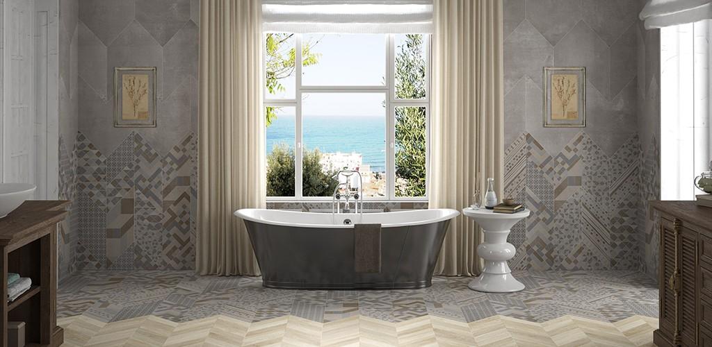 Ανακαίνιση μπάνιου, σπιτιού και επαγγελματικού χώρου με παραδοσιακό πλακάκι ξύλου