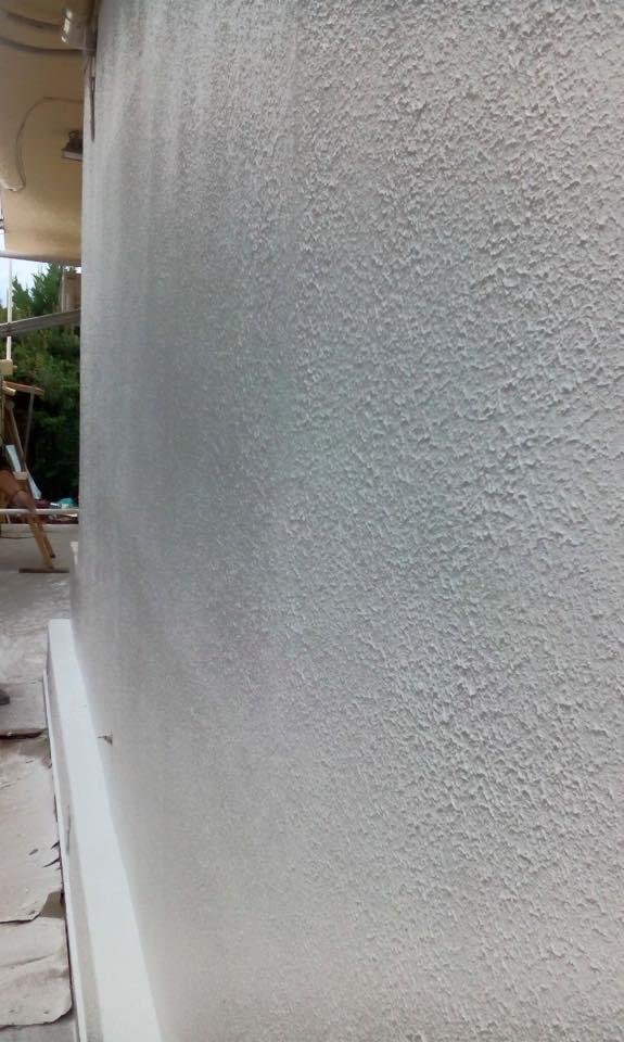 Βάψιμο εξωτερικών χώρων από τα συνεργεία της εταιρίας NEW HOME