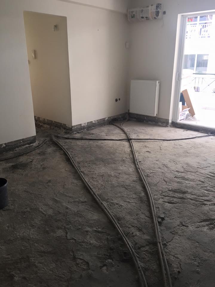Αποξήλωση παλαιών πλακιδίων και τοποθέτηση τσιμεντογωνίας New Home Constructions