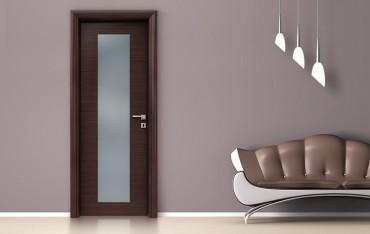 εσωτερικές πόρτες Laminate Glass Line