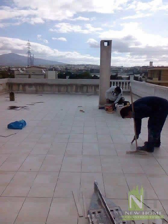Μόνωση Ταράτσας στο Μενίδι  New Home Constructions