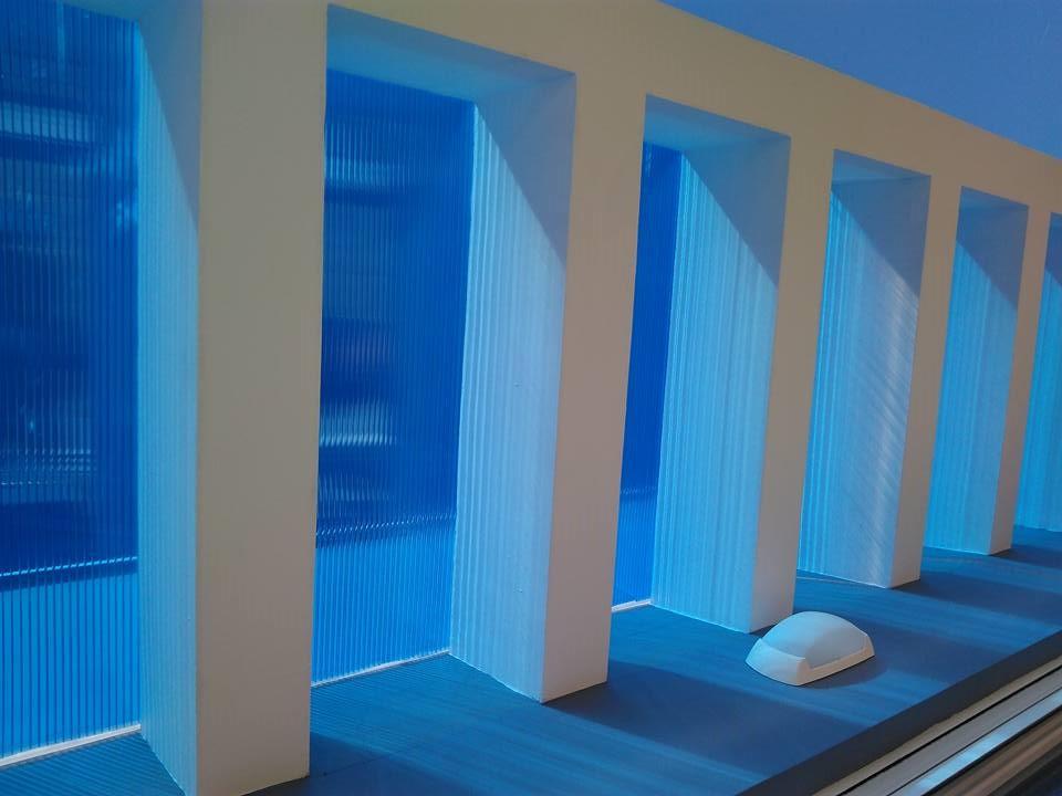 Μια εργασία μας στην τοποθέτηση πολυκαρμπονικού σκέπαστρου σε ταράτσα στον Πειραιά από την New Home Constructions
