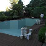 Φωτογραφίες στην Επισκευή πισίνας από το συνεργείο Σιαραμπής