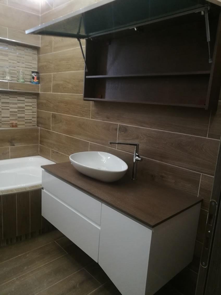 Πλήρες ανακαίνιση μπάνιου σε οικία στο Ίλιον